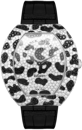 Franck Muller Infinity Replica Panther 3640 QZ PAN D CD watch