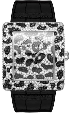 Franck Muller Infinity Replica Panther Square 3735 QZ PAN D CD watch