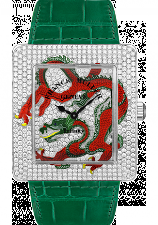 Franck Muller Infinity Replica Dragon Square 3740 QZ DRAG D CD watch