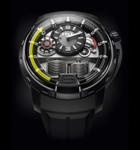Replica HYT H1 TITANIUM BLACK DLC 148-DL-21-GF-LC Watch