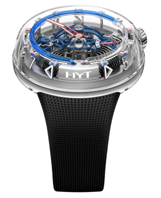 Replica HYT H²0 Silver 251-AD-46-BF-RU Watch