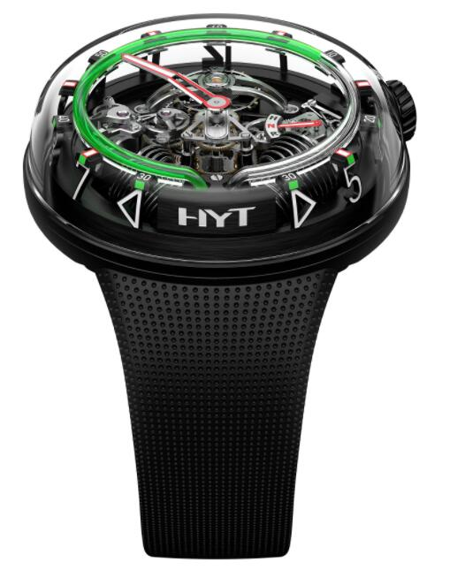 Replica HYT H²0 Black 251-AD-46-GF-RU Watch