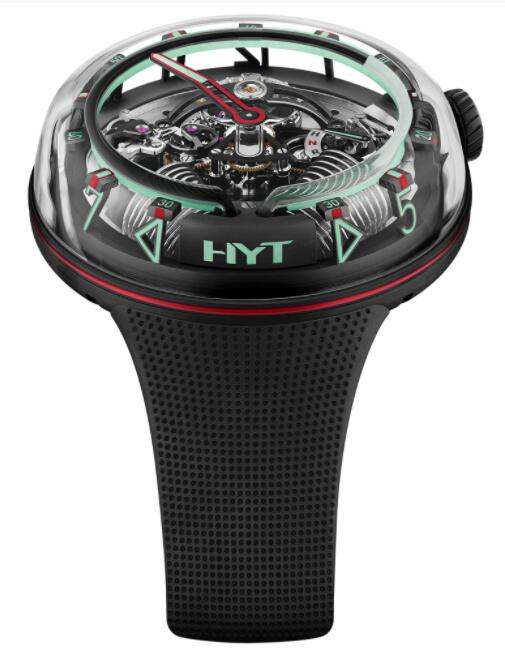 Replica HYT H²0 Mexico Red H02336 Watch
