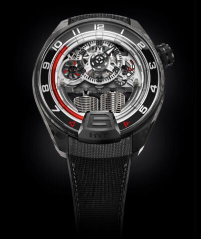 Replica HYT H4 GOTHAM 151-CB-03-RF-RN Watch