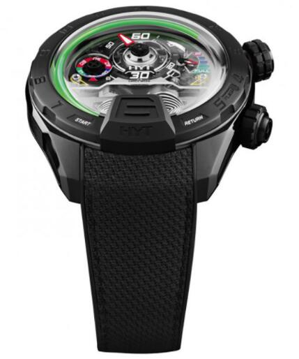 Replica HYT H4 Panis-Barthez Competition 151-DL-08-GF-RN Watch