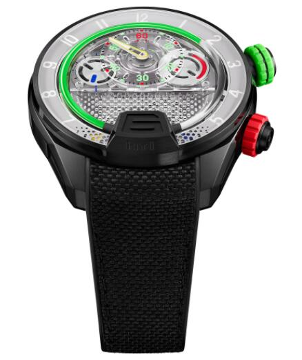 Replica HYT H4 Neo 2 512-TD-66-GF-RN Watch
