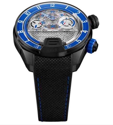 Replica HYT H4 Neo 2 Blue 512-TD-67-BF-RN Watch