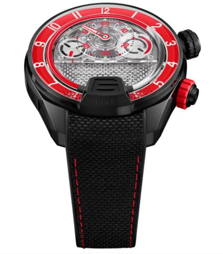Replica HYT H4 Neo 2 Red 512-TD-68-RF-RN Watch