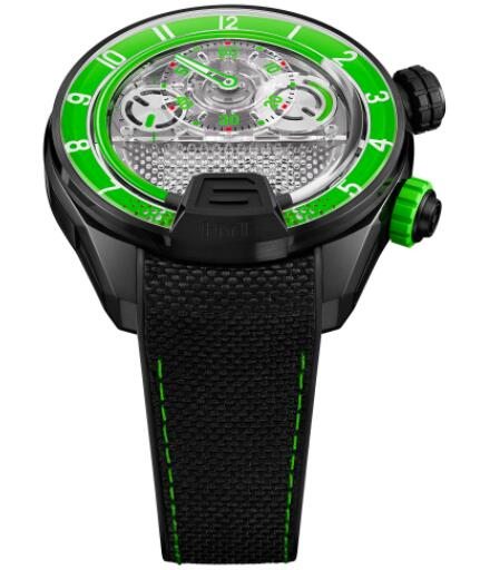 Replica HYT H4 Neo 2 Green 512-TD-69-GF-RN Watch