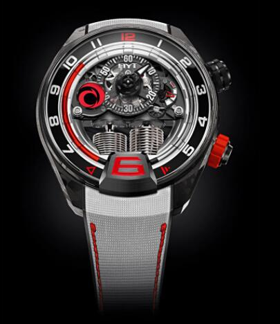 Replica HYT H4 ALINGHI 515-CB-03-RF-RV Watch