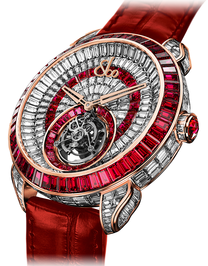 Jacob & Co. Palatial Opera Flying Tourbillon Watch PO820.40.BD.MR.A Jacob and Co Replica Watch