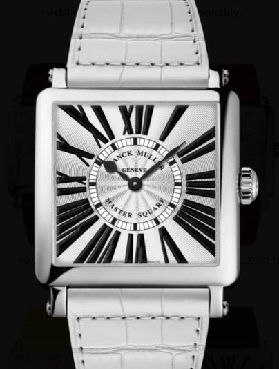 Franck Muller Master Square Ladies Replica Watch for Sale Cheap Price 6002 M QZ R