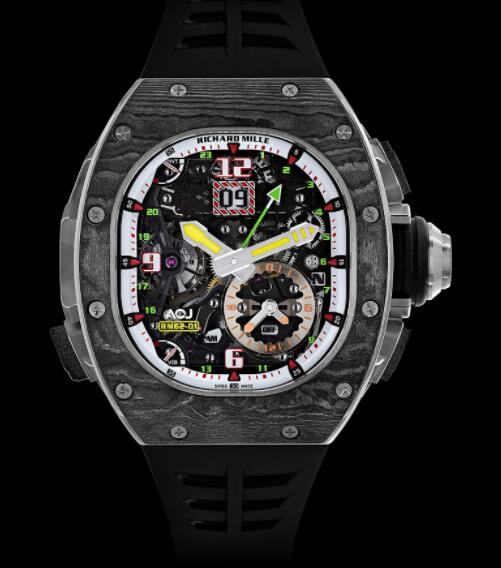 Replica Richard Mille RM 62-01 Tourbillon Vibrating Alarm ACJ Watch