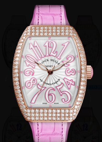 Franck Muller Vanguard Lady Classic Replica Watch Cheap Price V 32 SC AT FO D (RS)