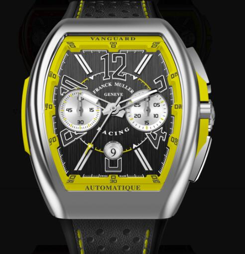 Buy Franck Muller Vanguard Racing Chronograph Replica Watch for sale Cheap Price V 45 CC DT RACING (JA)