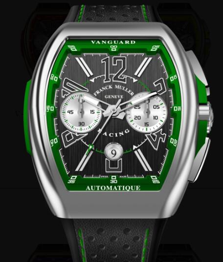 Buy Franck Muller Vanguard Racing Chronograph Replica Watch for sale Cheap Price V 45 CC DT RACING (VE)