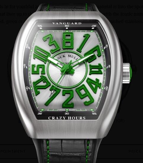 Buy Franck Muller Vanguard Crazy Hours Replica Watch for sale Cheap Price V 45 CH BR (VR)