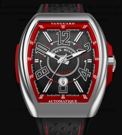 Buy Franck Muller Vanguard Racing Classical Replica Watch for sale Cheap Price V 45 SC DT RACING (ER)