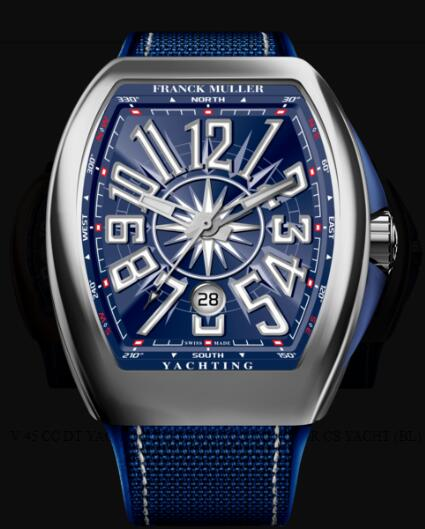 Franck Muller Vanguard Yachting Review Replica Watch Cheap Price V 45 SC DT YACHT (BL)