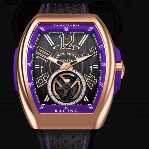 Buy Franck Muller Vanguard Racing Tourbillon Replica Watch for sale Cheap Price V 45 T RACING (VL)